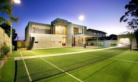 Tennis court equipment courtney tennis760 for Mesure terrain de tennis